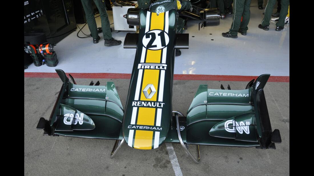 Formel 1-Test, Barcelona, 22.2.2012, Caterham
