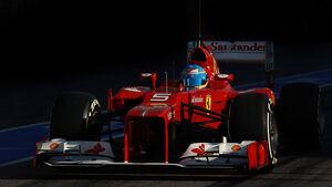 Formel 1-Test, Barcelona, 22.2.2012, Fernando Alonso, Ferrari