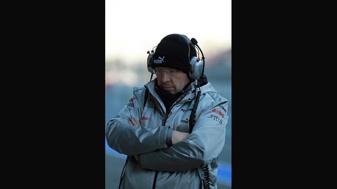 Formel 1-Test, Barcelona, 22.2.2012, Ross Brawn, Mercedes GP