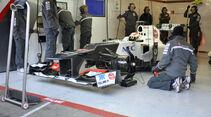 Formel 1-Test, Barcelona, 22.2.2012, Sergio Perez, Sauber
