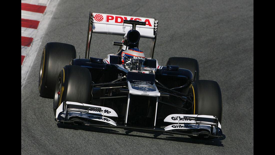 Formel 1-Test, Barcelona, 22.2.2012, Valtteri Bottas, Williams