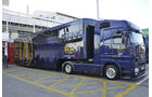 Formel 1-Test, Barcelona, 23.2.2012, FIA-Bus