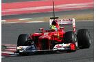 Formel 1-Test, Barcelona, 23.2.2012, Felipe Massa, Ferrari