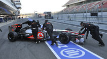 Formel 1-Test, Barcelona, 23.2.2012, Jenson Button, McLaren