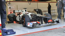 Formel 1-Test, Barcelona, 23.2.2012, Kamui Kobayashi, Sauber