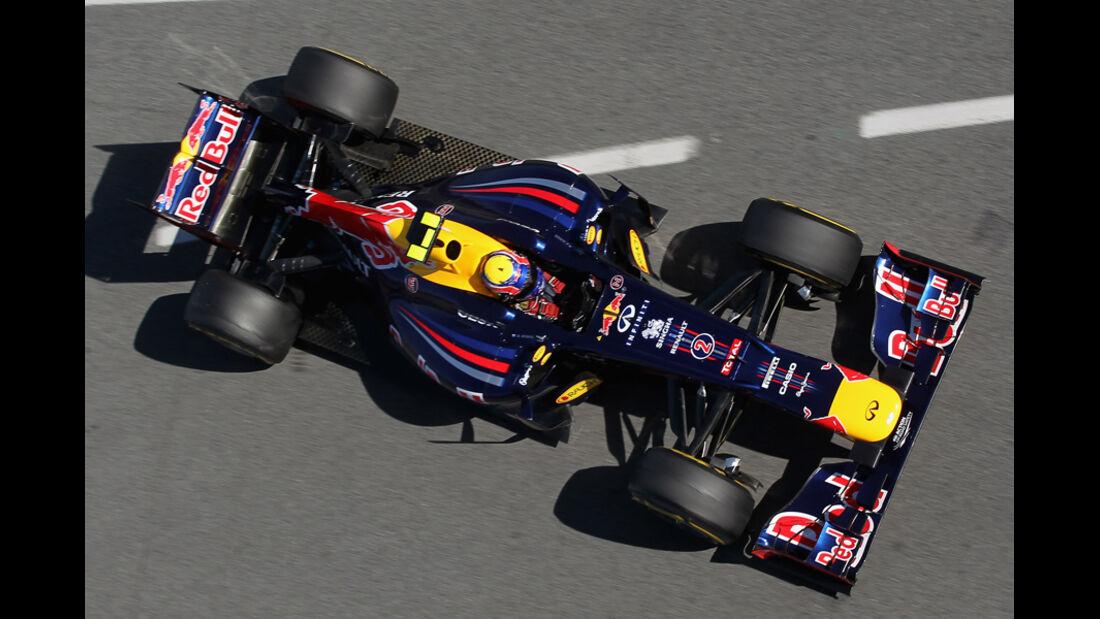 Formel 1-Test, Barcelona, 23.2.2012, Mark Webber