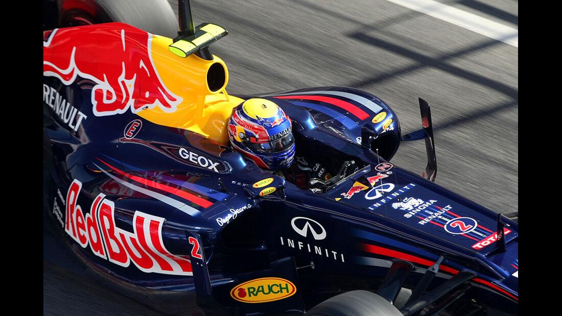 Formel 1-Test, Barcelona, 23.2.2012, Mark Webber, Red Bull