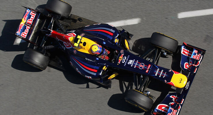Formel 1-Test, Barcelona, 23.2.2012, Mark Webber