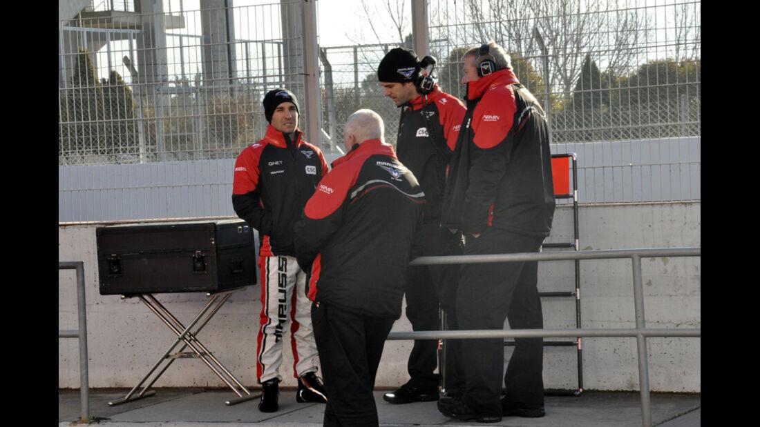 Formel 1-Test, Barcelona, 23.2.2012, Marussia F1 Team