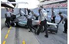 Formel 1-Test, Barcelona, 23.2.2012, Michael Schumacher, Mercedes GP