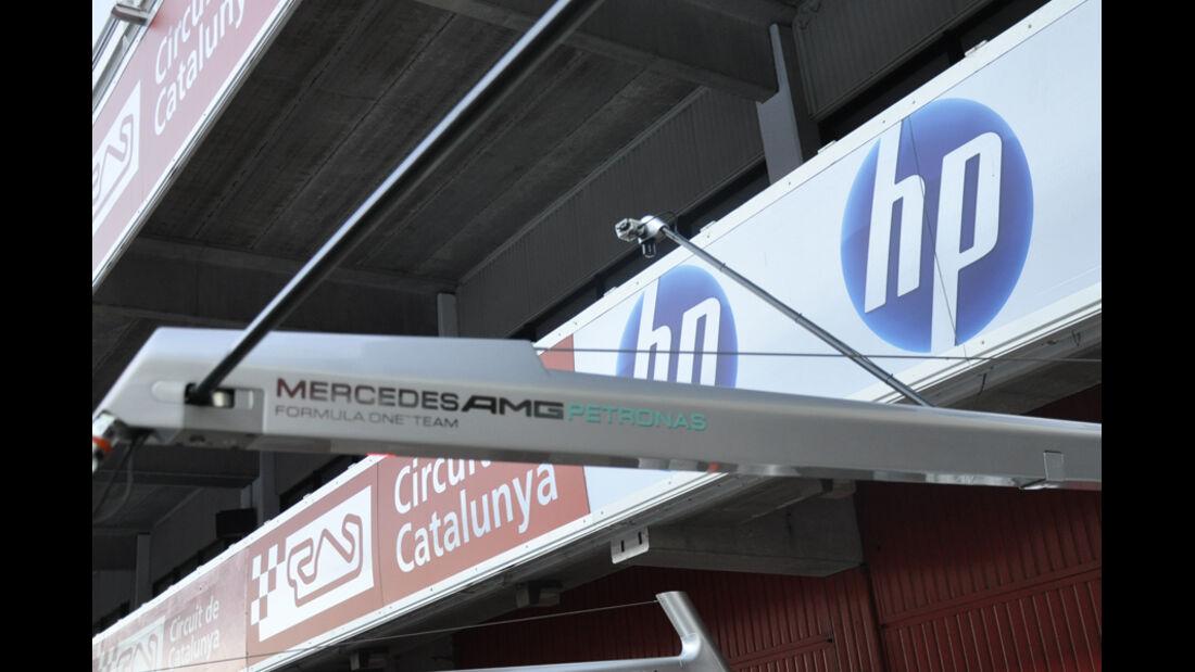 Formel 1-Test, Barcelona, 24.2.2012
