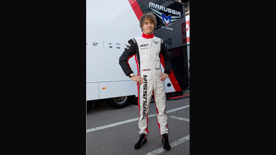 Formel 1-Test, Barcelona, 24.2.2012, Charles Pic, Marussia F1