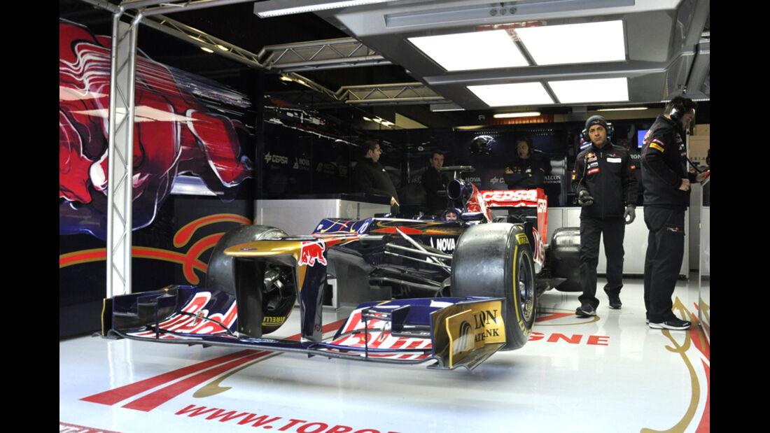 Formel 1-Test, Barcelona, 24.2.2012, Jean-Eric Vergne, Toro Rosso