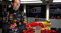Formel 1-Test, Barcelona, 24.2.2012, Mark Webber, Red Bull