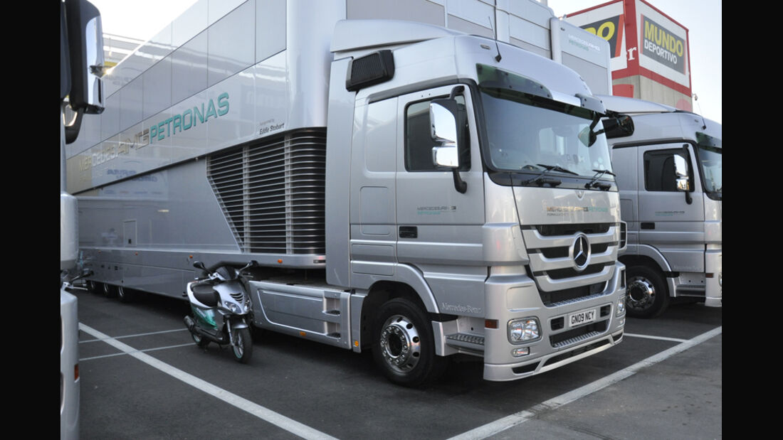 Formel 1-Test, Barcelona, 24.2.2012, Mercedes GP
