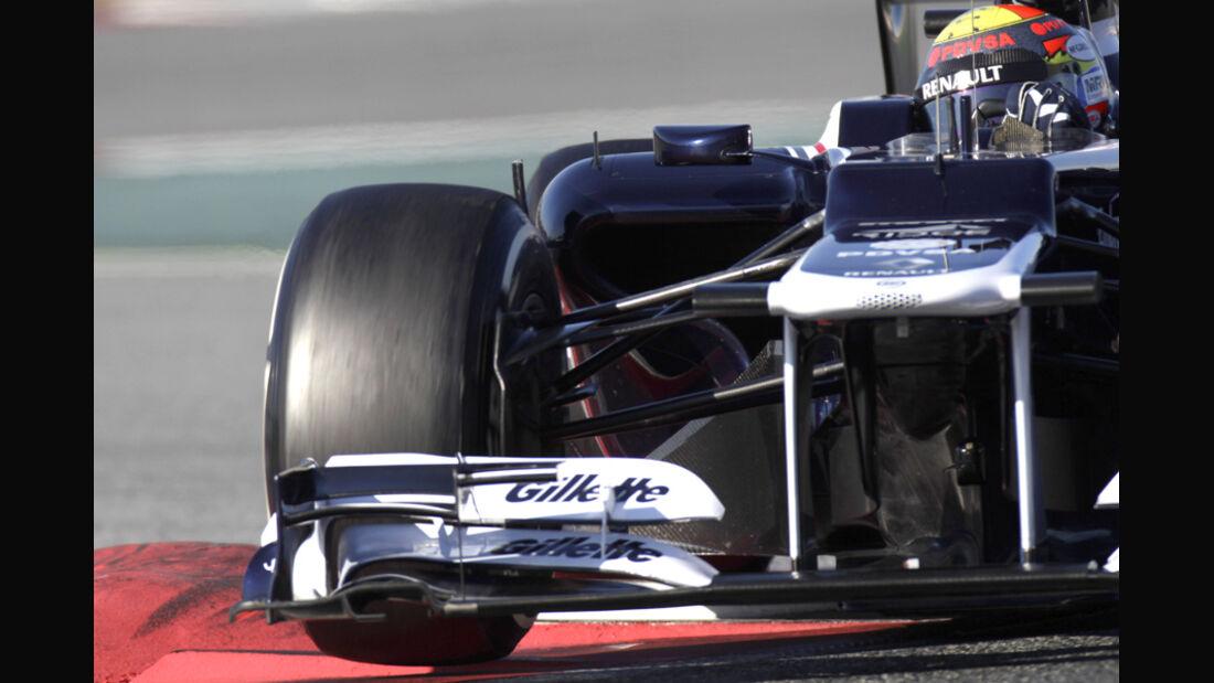 Formel 1-Test, Barcelona, 24.2.2012, Pastor Maldonado, Williams