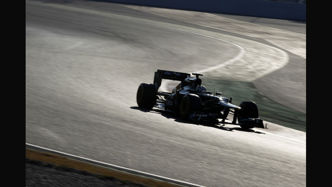 Formel 1-Test, Barcelona, 24.2.2012, Vitaly Petrov, Caterham