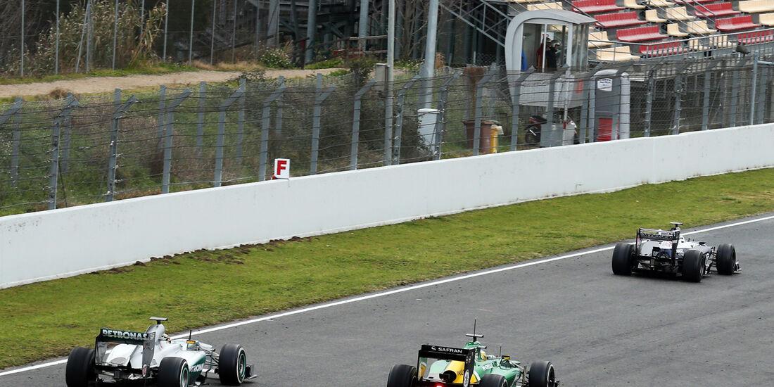 Formel 1 - Test - Barcelona - 28. Februar 2013