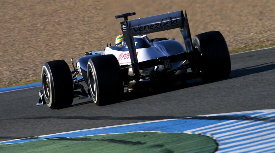 Formel 1-Test, Jerez, 10.2.2012, Bruno Senna, Williams
