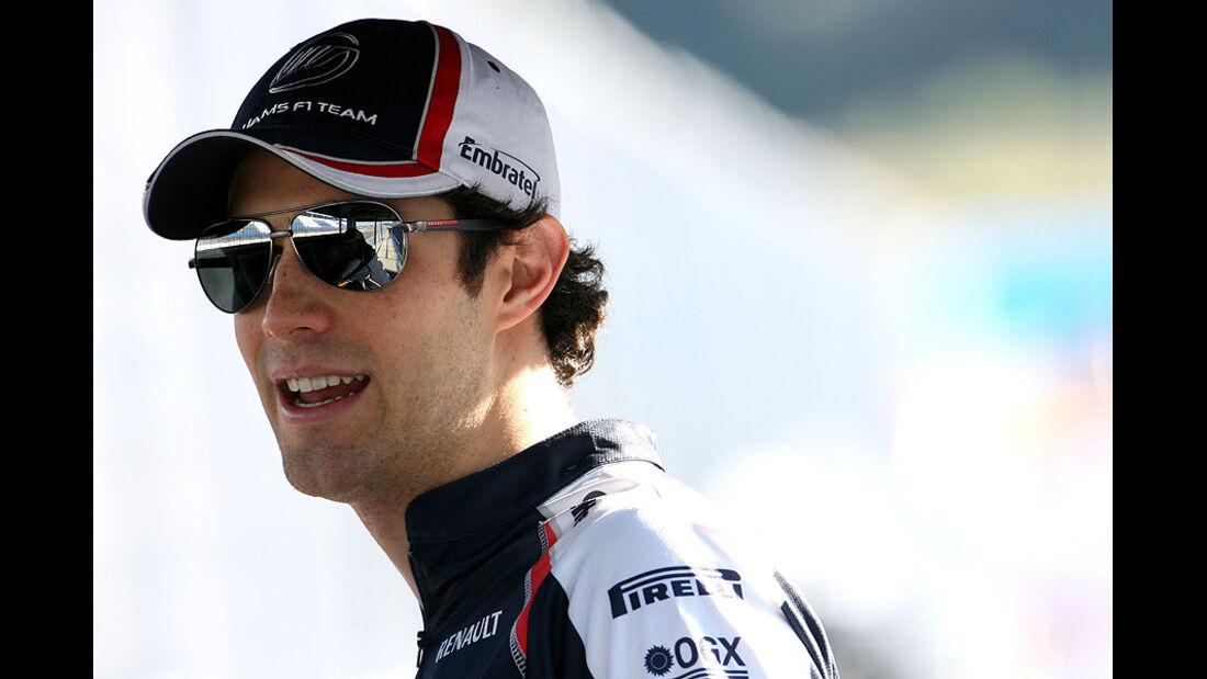 Formel 1-Test, Jerez, 7.2.2012, Bruno Senna, Williams