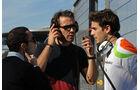 Formel 1-Test, Jerez, 7.2.2012, Nicolas Todt, Jean-Eric Vergne, Jules Bianchi