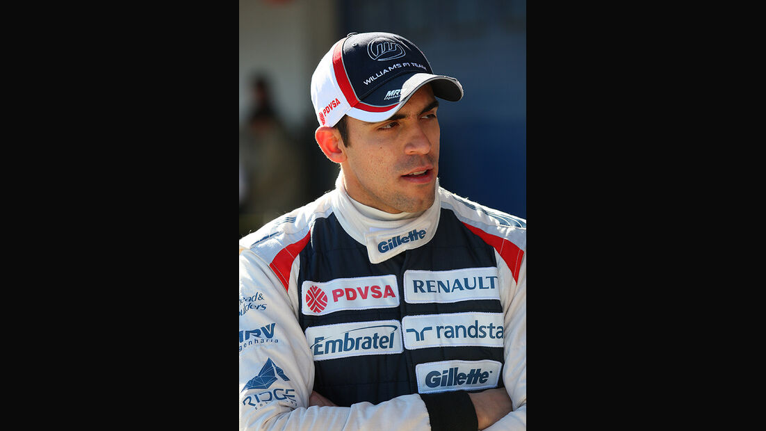 Formel 1-Test, Jerez, 7.2.2012, Pastor Maldonado, Williams