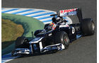 Formel 1-Test, Jerez, 7.2.2012, Pastor Maldonado, Williams
