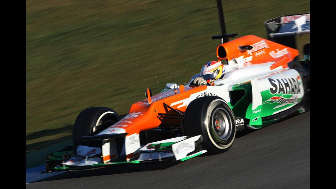 Formel 1-Test, Jerez, 7.2.2012, Paul di Resta - Force India
