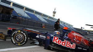 Formel 1-Test, Jerez, 8.2.2012, Daniel Ricciardo, Toro Rosso