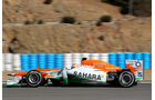Formel 1-Test, Jerez, 8.2.2012, Paul di Resta, Force India