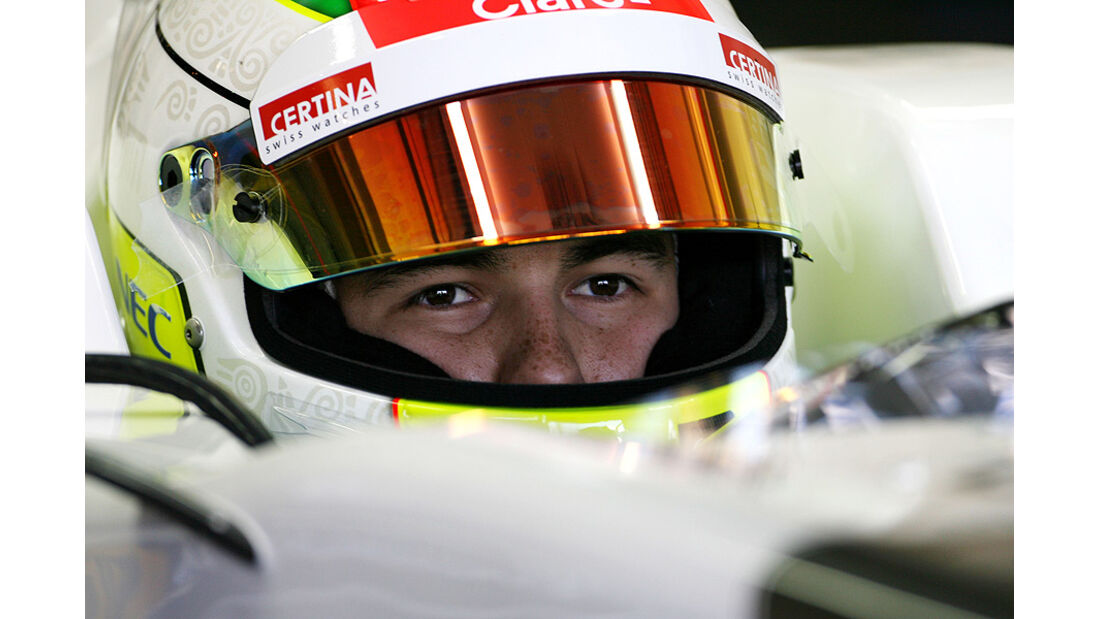 Formel 1-Test, Jerez, 8.2.2012, Sergio Perez, Sauber