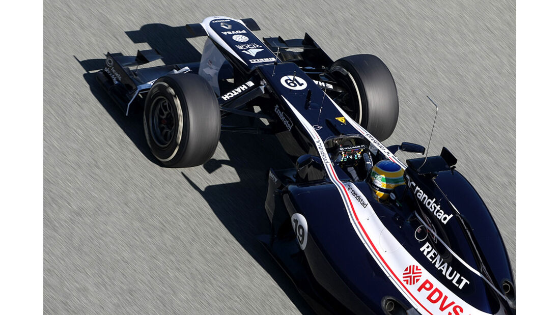 Formel 1-Test, Jerez, 9.2.2012, Bruno Senna, Williams