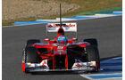 Formel 1-Test, Jerez, 9.2.2012, Fernando Alonso, Ferrari