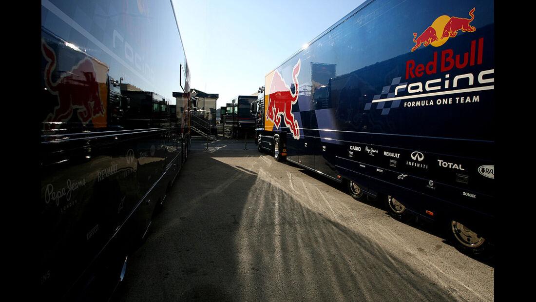 Formel 1 Test, Jerez, Tag 1, Red Bull