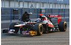 Formel 1 Test, Jerez, Tag 1, Toro Rosso, Daniel Ricciardo
