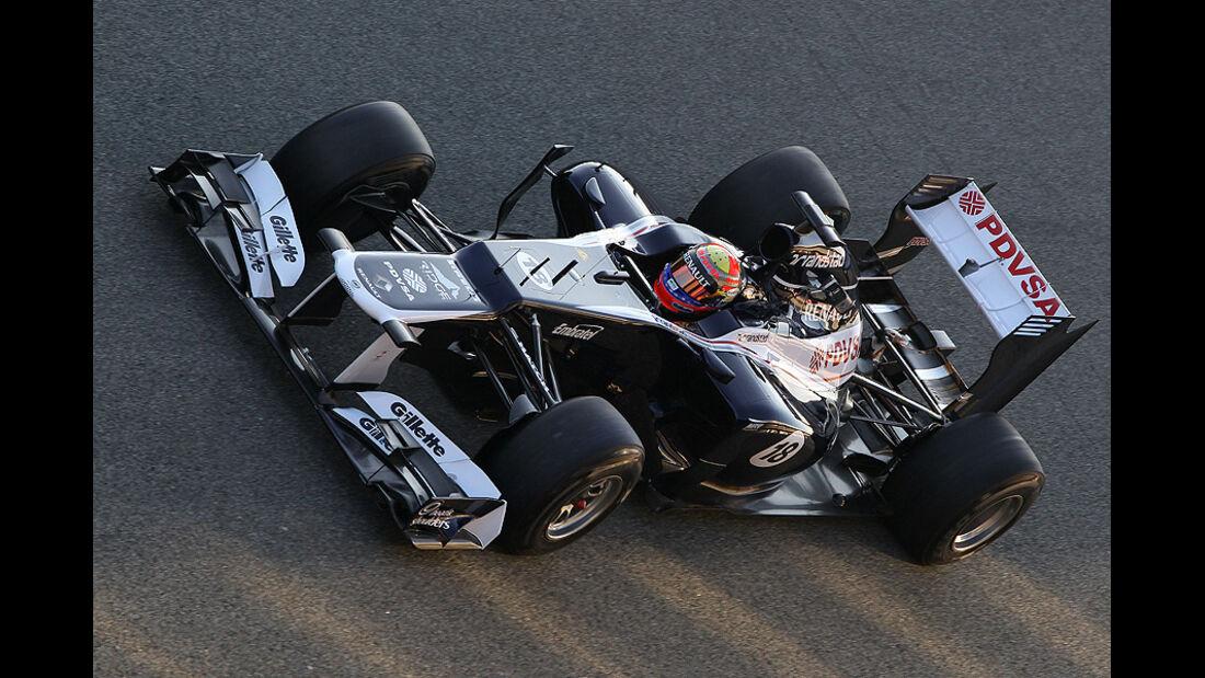 Formel 1 Test, Jerez, Tag 1, Williams, Pastor Maldonado