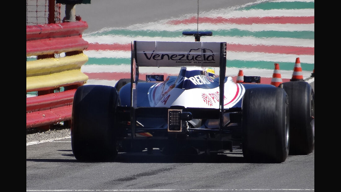 Formel 1-Test, Mugello, 02.05.2012, Bruno Senna, Williams