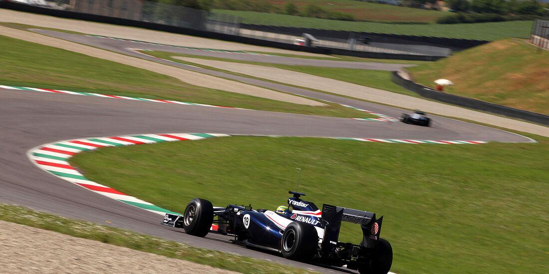 Formel 1-Test, Mugello, 02.05.2012, Bruno Senna, Williams