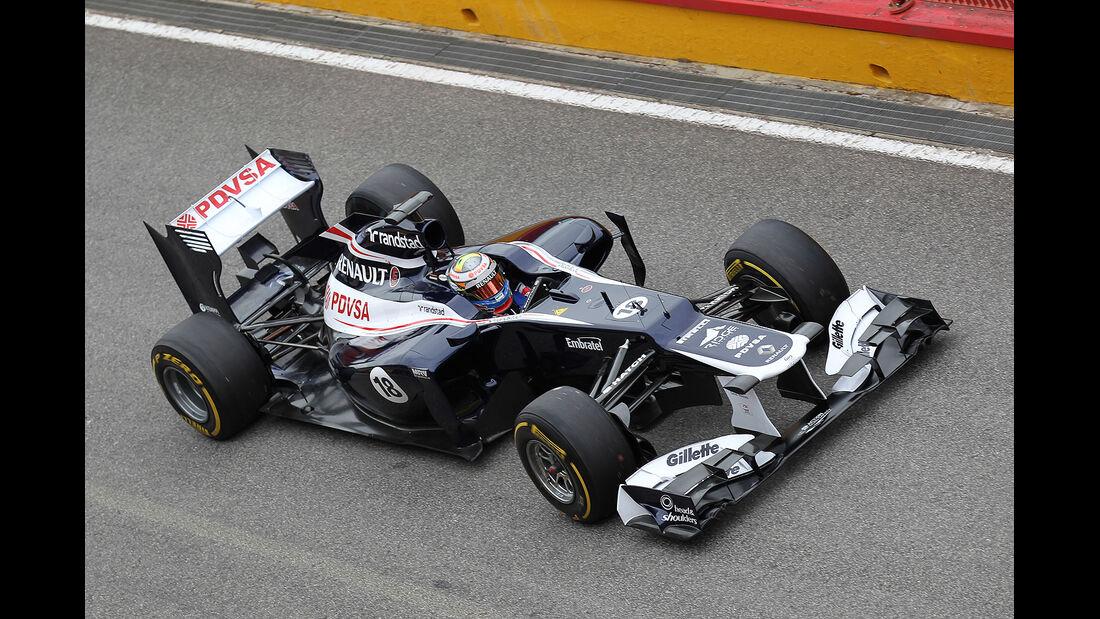 Formel 1-Test, Mugello, 03.05.2012, Pastor Maldonado, Williams