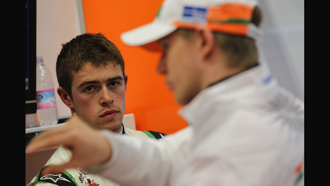 Formel 1-Test, Mugello, 03.05.2012, Paul di Resta, Nico Hülkenberg, Force India