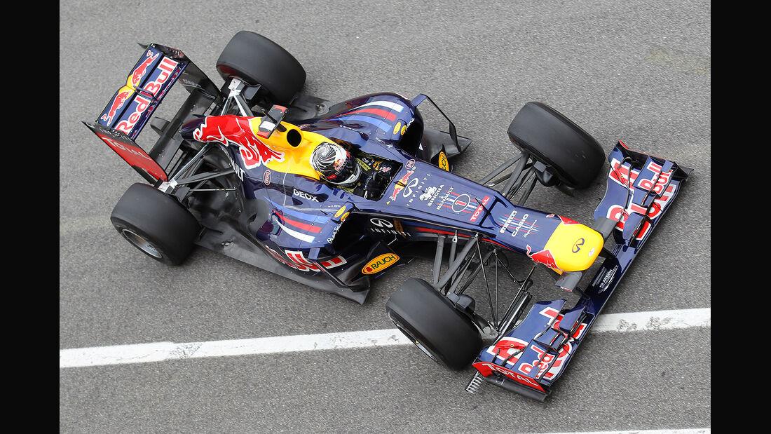 Formel 1-Test, Mugello, 03.05.2012, Sebastian Vettel, Red Bull