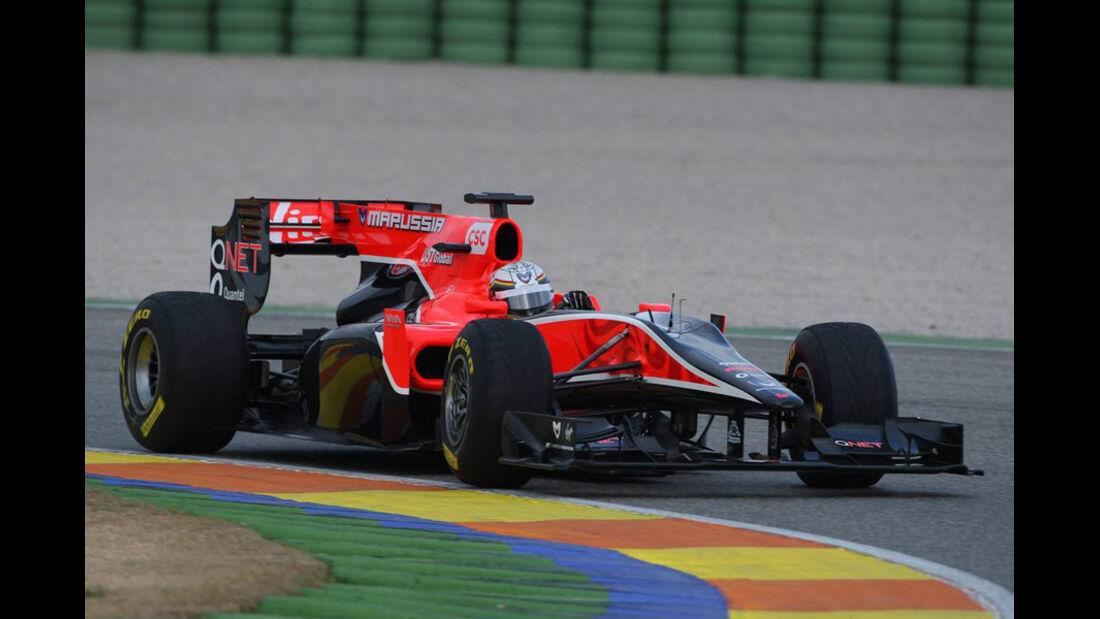 Formel 1-Test Valencia 2011
