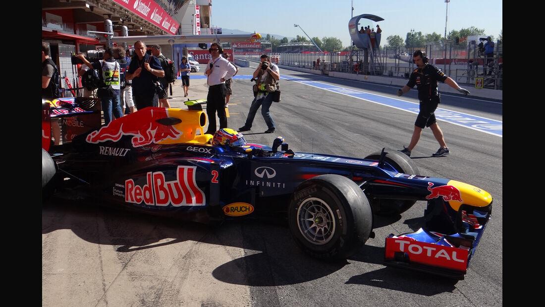 Formel 1-Training, Barcelona, 11.05.2012
