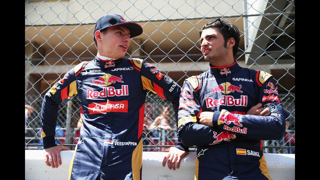 Formel 1 - Verstappen - Sainz