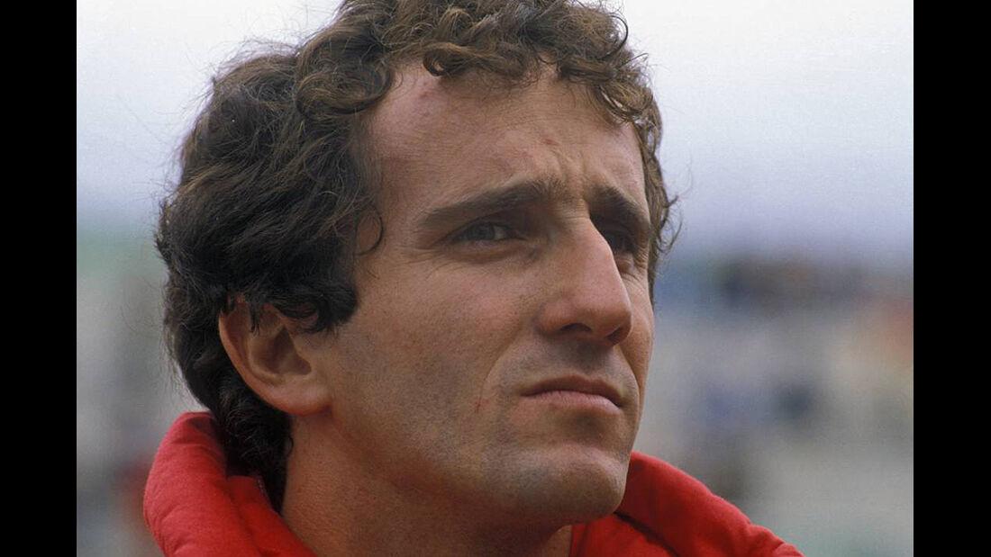 Formel 1 Weltmeister Alain Prost