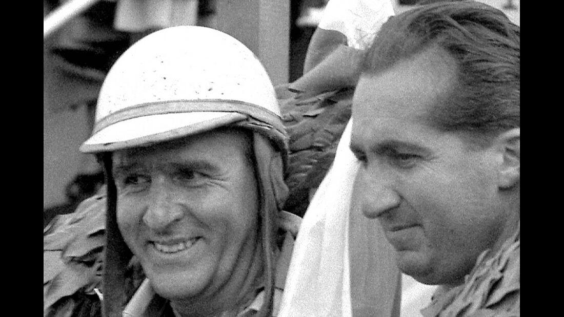 Formel 1 Weltmeister Alberto Ascari Giuseppe Farina