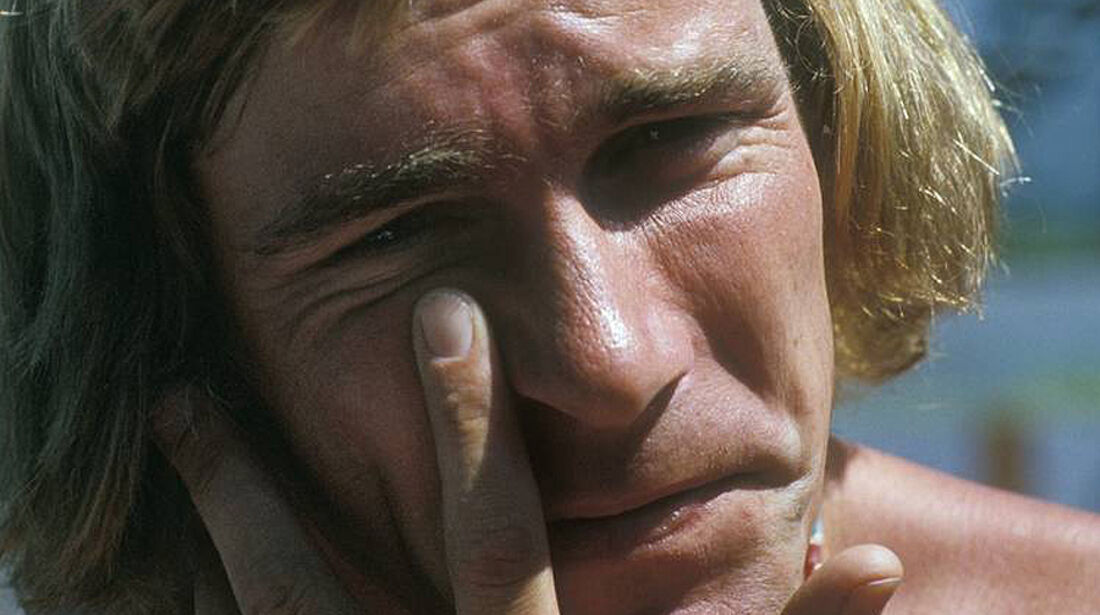 Formel 1 Weltmeister James Hunt