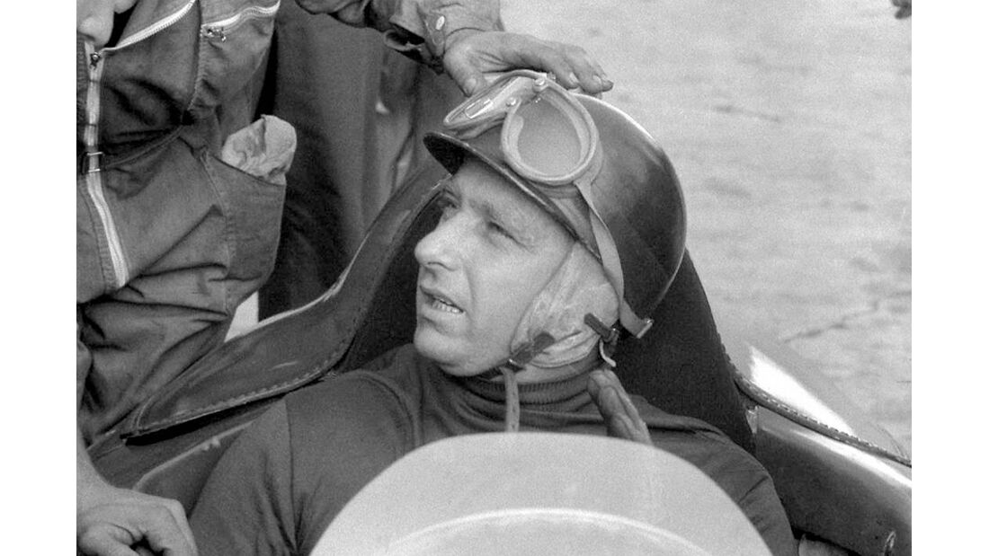 Formel 1 Weltmeister Juan Manuel Fangio