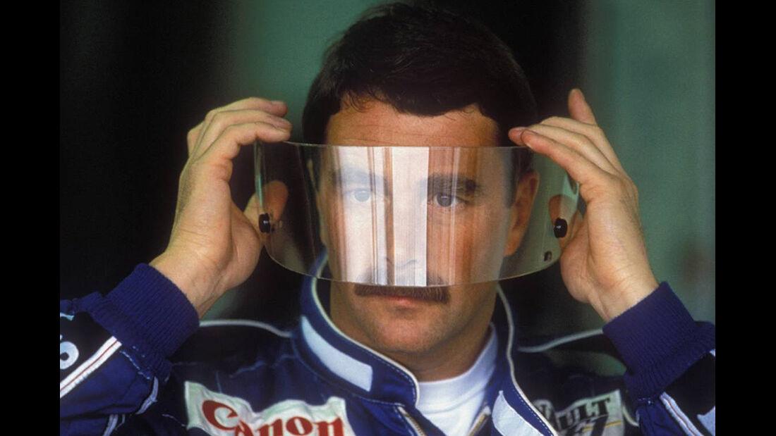 Formel 1 Weltmeister Nigel Mansell
