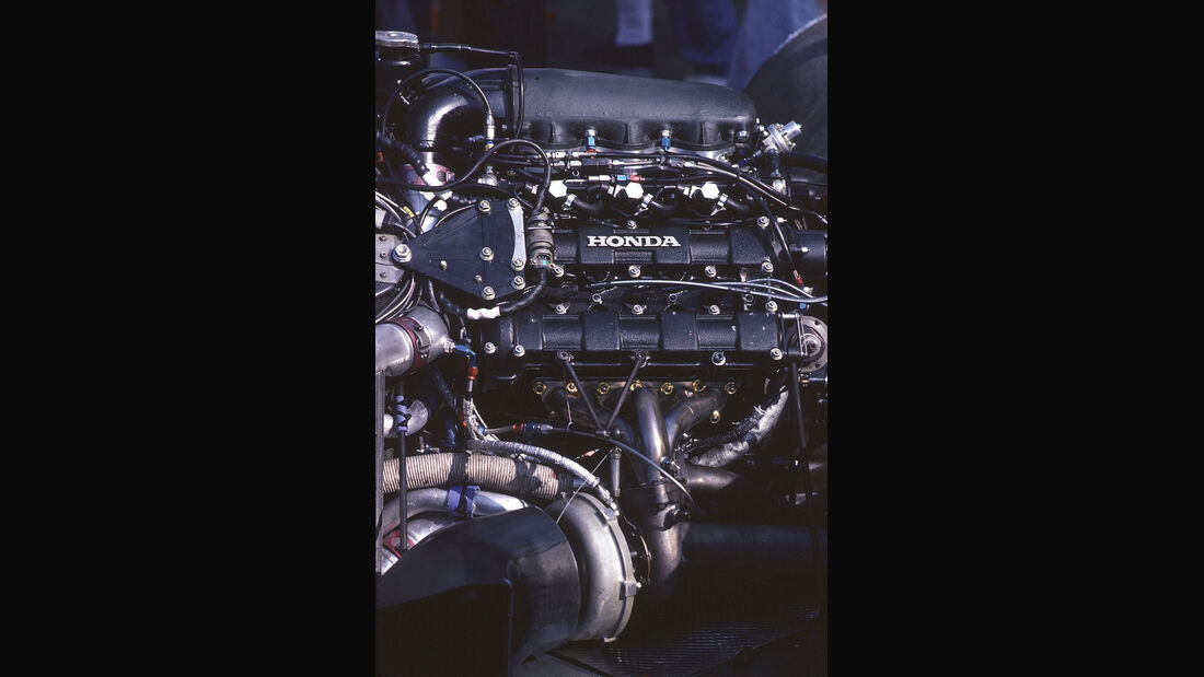 Formel 1 - Williams FW11 - V6-Turbo - Honda
